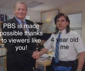 childhood, comedy, and pbs image