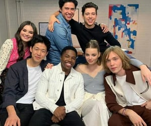 family, friendship, and serie image