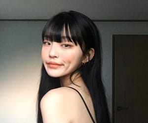 aesthetic, asian, and woman image