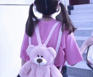 baby, bear, and outfit image