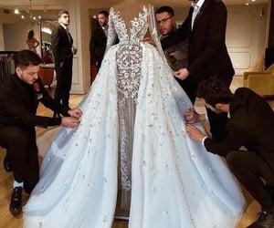 bride, celebration, and forever image