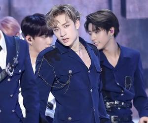 Chan, JYP, and skz image
