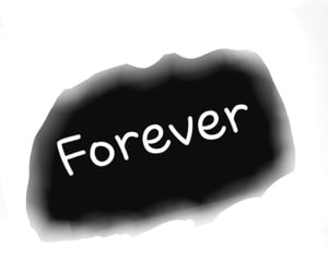 forever, hard work, and hope image