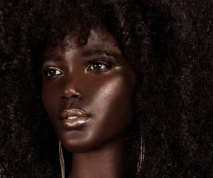 curls, gold, and highlight image