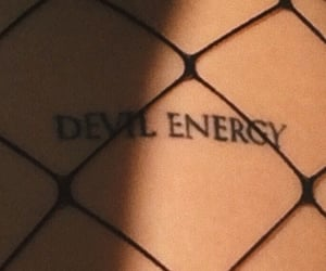 Devil, tattoo, and aesthetic image