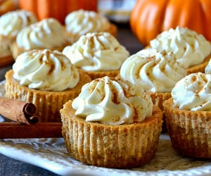 cheesecake, pumpkin, and desserts image