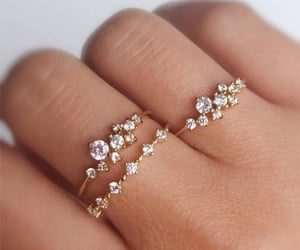 rings, style, and beautiful image