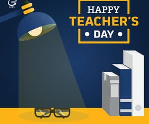 day, teacher, and happy teachers' day image