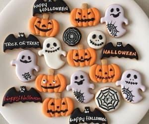 Cookies, Halloween, and pumpkin image