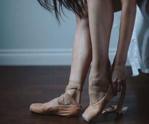 ballet, beige, and hand image