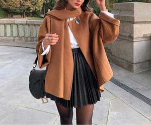 autumn, chic, and style image