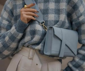bags, fashion, and blue image