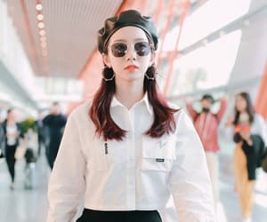 airport, fashion, and wjsn image