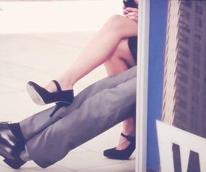 high heel, lovely, and matt bomer image