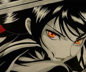 anime, art, and katana image
