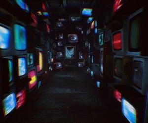 cyberpunk, dystopian, and eyes image