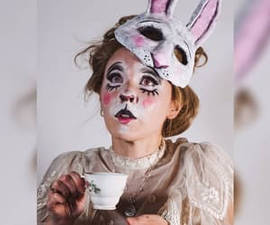 alice in wonderland, cosplay, and makeup image