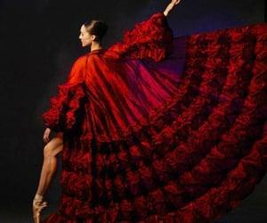 belleza, elegancia, and rojo image