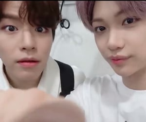 felix, seungmin, and stray kids image