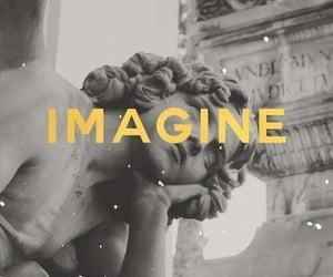 background, girl, and imagine image