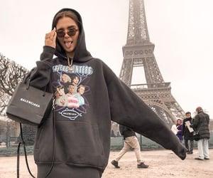 Balenciaga, girl, and hoodie image
