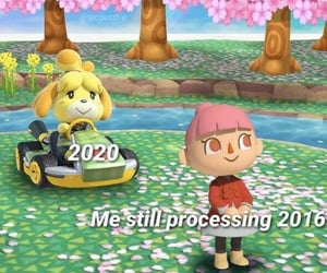 2020, animal crossing, and funny image