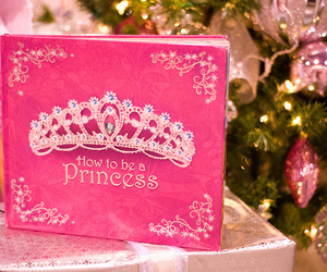 princess, pink, and book image