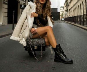 boots, chanel, and clothes image