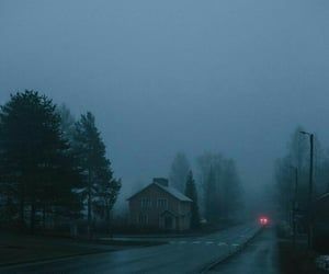 dark, aesthetic, and fog image