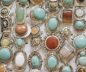 fashion, jewelry, and turquoise image