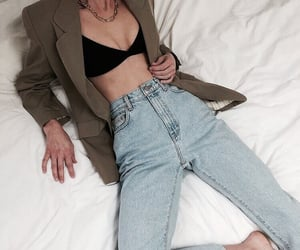 blue jeans, denim, and outfit image