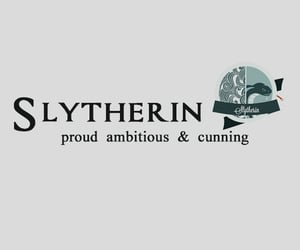 harry potter, header, and slytherin image