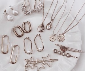 gold, jewelry, and earrings image