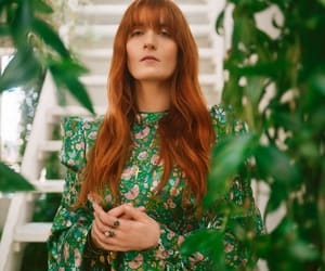 florence welch, green, and indie image