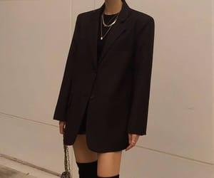 bag, black, and blazer image