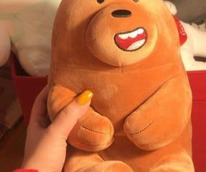 bear, nail, and teddy bear image