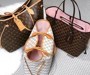 bag, bags, and Louis Vuitton image