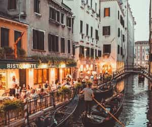 italy cities water travel image