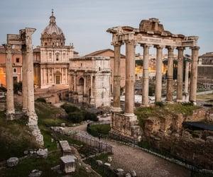 luxury, rome, and travel image