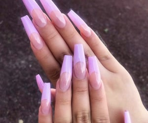 girls, inspiration, and nails image