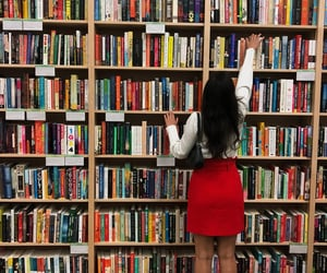 autumn, books, and bookstore image