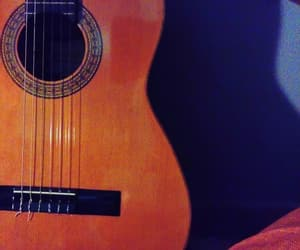chord, guitar, and music image