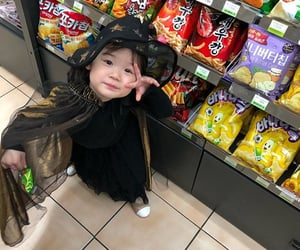 asian, baby, and Halloween image