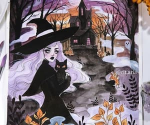 bat, bats, and fall image