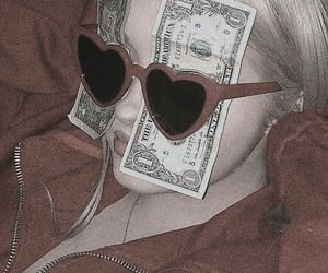money, red, and aesthetic image