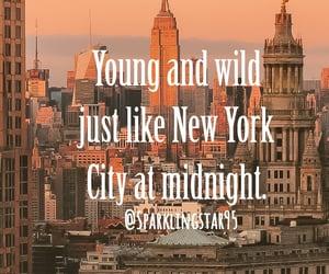 city, newyork, and love image