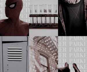 aesthetic, peter parker, and character image