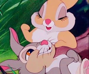 disney, bambi, and bunny image