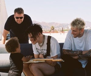 machine gun kelly, colson baker, and yungblud image