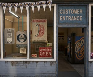 entrance, garage, and sign image